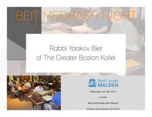 Beit Medrash Night - 20140618